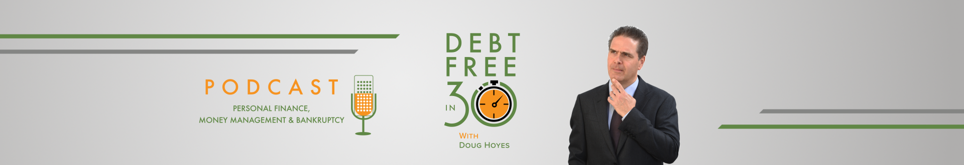 Debt Free in 30 Podcast Archive - Page 1
