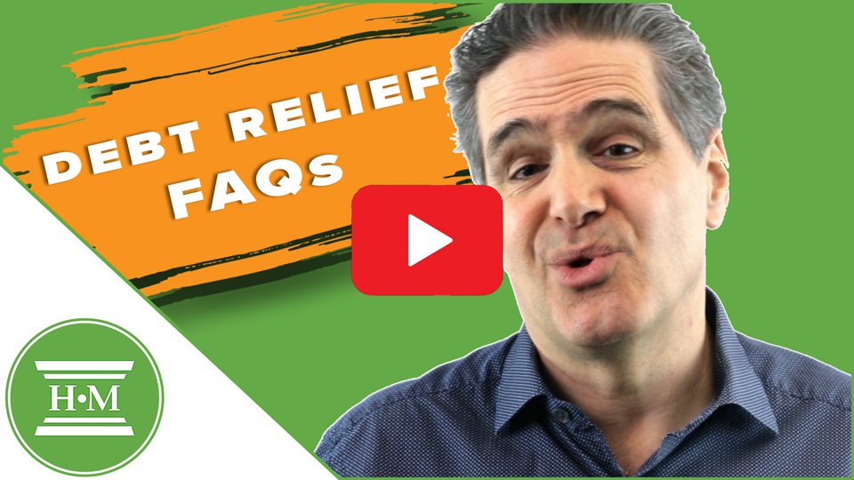 Debt Relief FAQ - How can I reduce my debt?