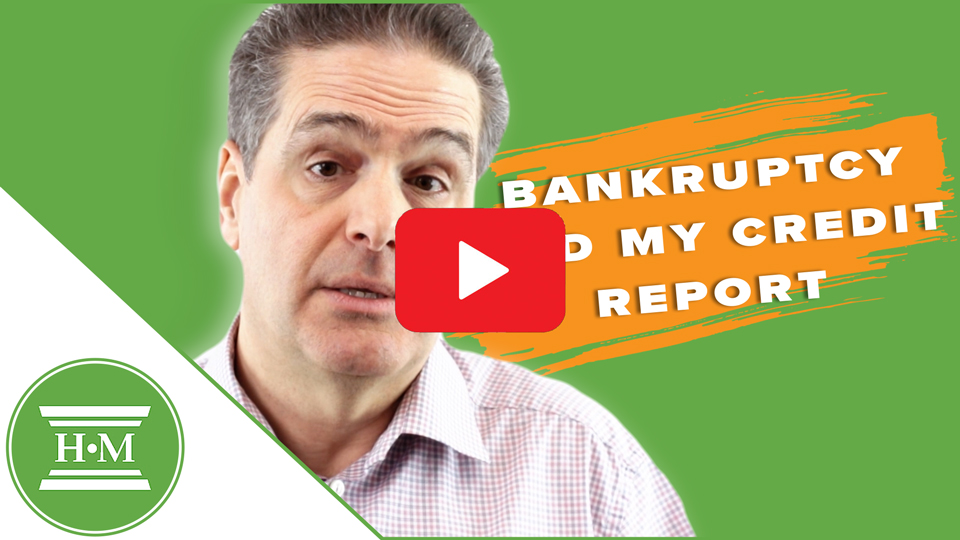 How long does bankruptcy remain on my credit report