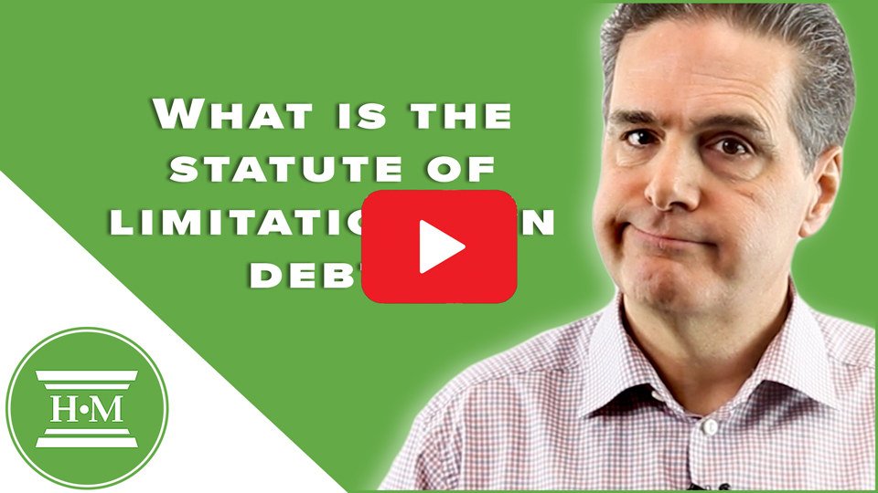 What is the statute of limitations on debt? | Creditor & Debtor Rights