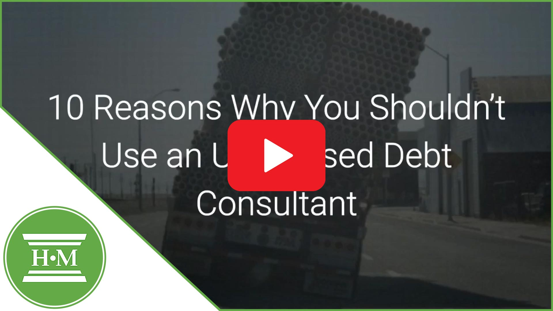10 reasons why you shouldn't use a debt consultant