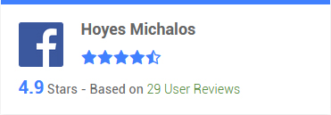 Facebook testimonials 4.9 stars, based on 29 User Reviews