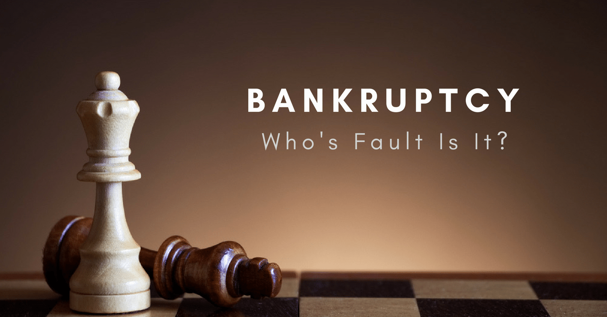 Is Filing a Consumer Proposal or Bankruptcy an Admission of Failure?
