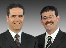 Doug Hoyes and Ted Michalos