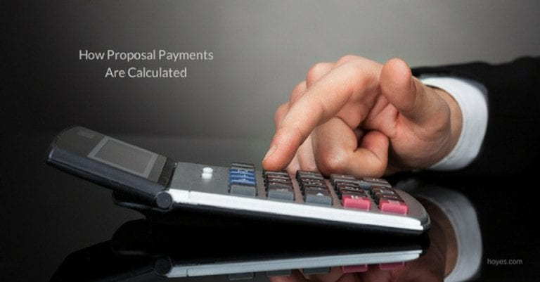 Calculating Payments in a Consumer Proposal
