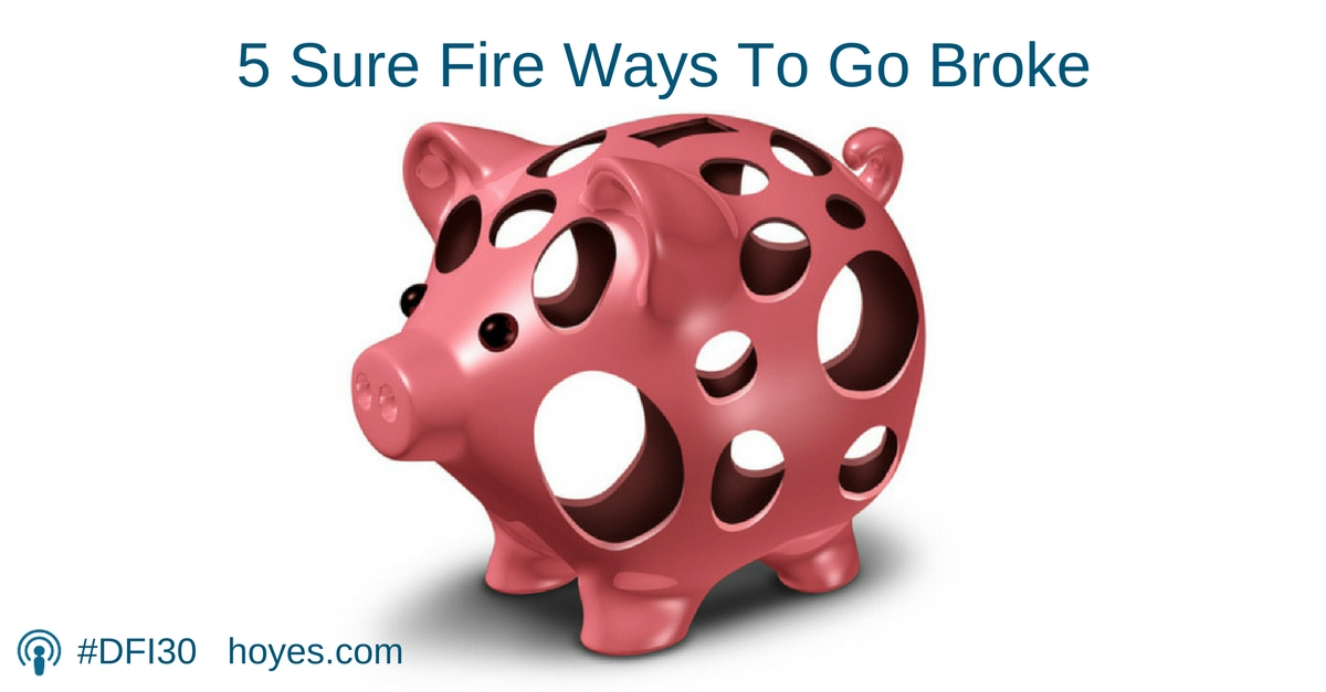 Barry Choi - 5 Sure Fire Ways To Go Broke
