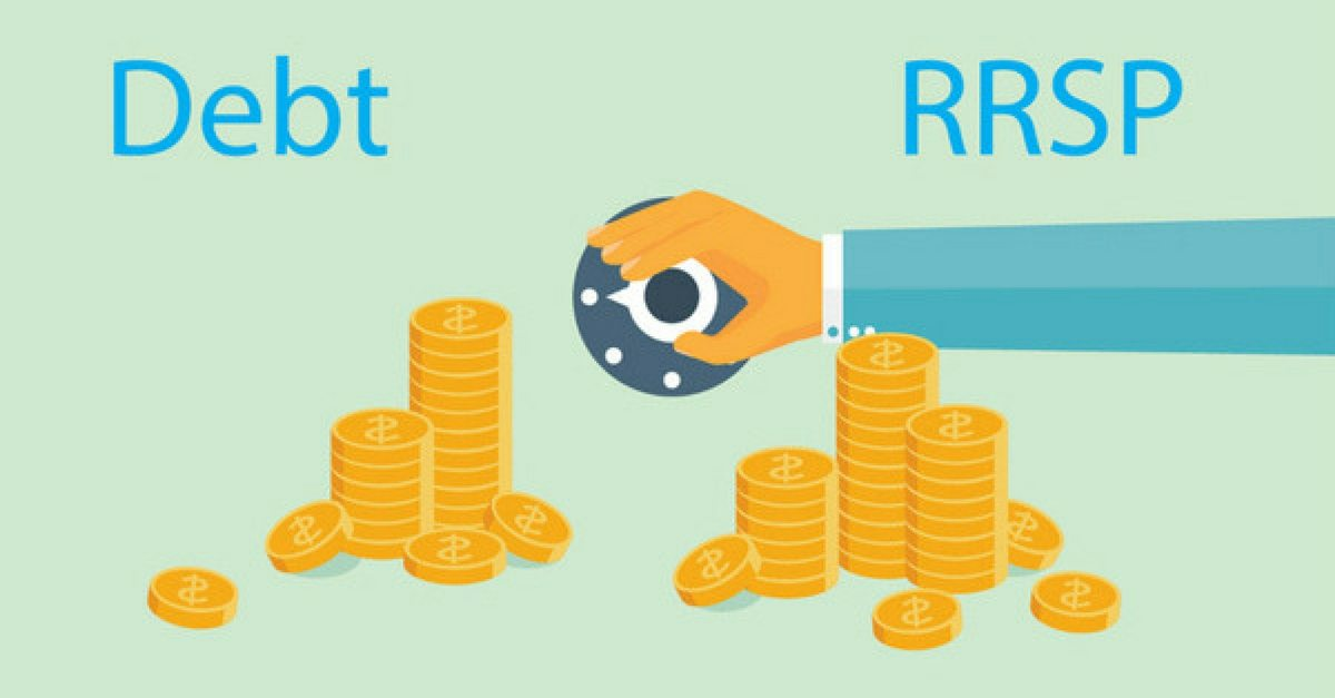 Should You Pay Down Debt Or Invest In RRSP?