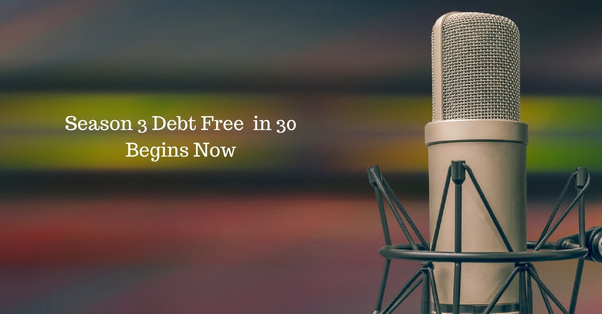 A New Season, A New Format for Debt Free in 30
