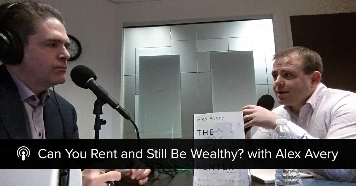 can you rent and still be wealthy
