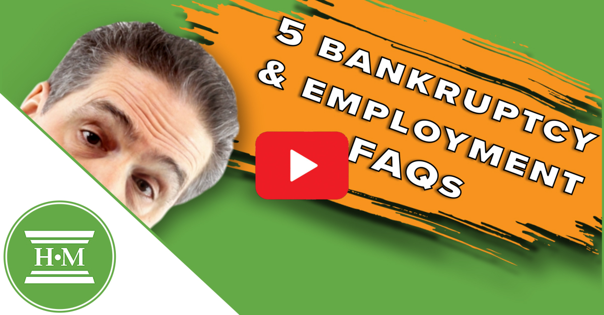 Will Bankruptcy Affect My Employment?
