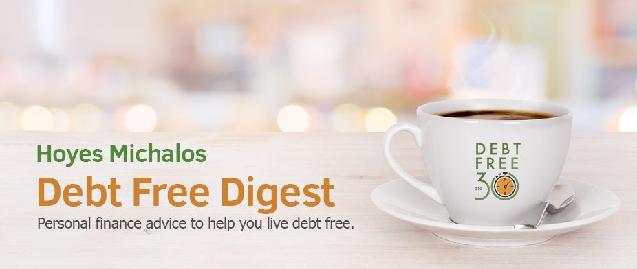 debt free digest newsletter