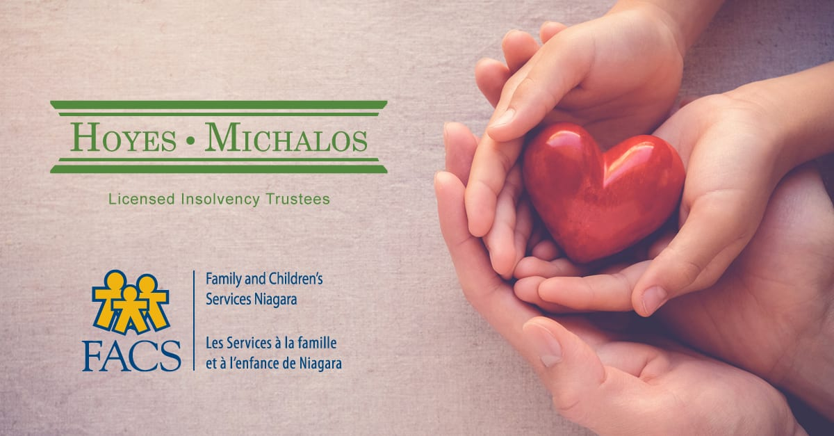 Hoyes Michalos a Silver Sponsor of the Family and Children's Services Niagara Charity Gala