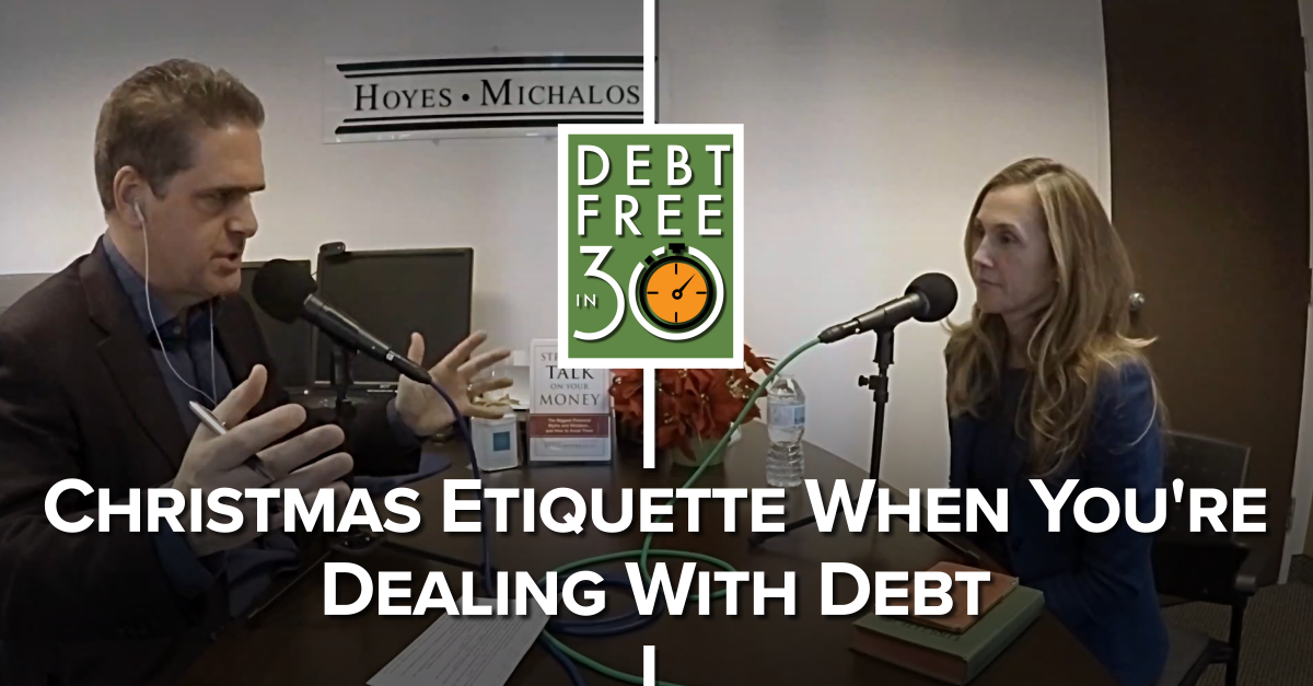 Christmas Etiquette When You're Dealing With Debt