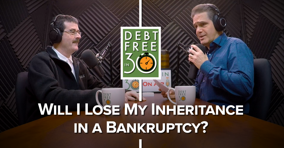 will i lose my inheritance in a bankruptcy?