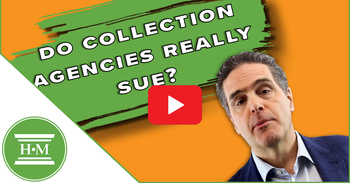 Can a Collection Agency Sue You in Canada?