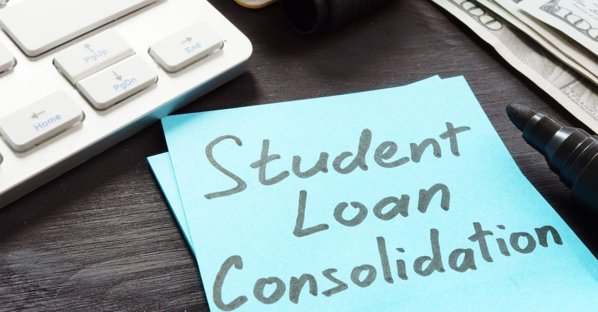 How Can I Consolidate My Student Debt?