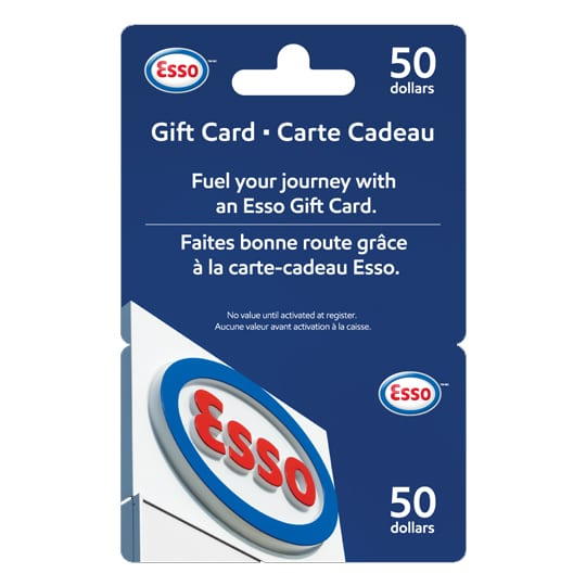 esso gift card for hoyes michalos giveaway