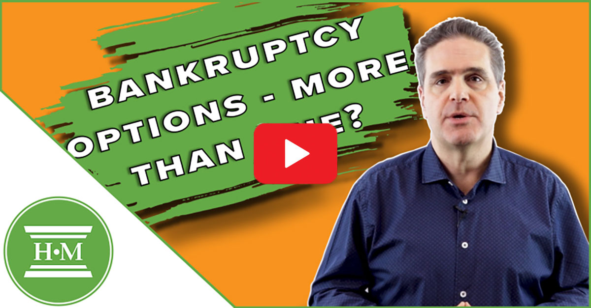 Bankruptcy Options in Canada Video Thumbnail