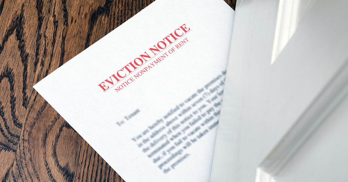 Can Bankruptcy Stop a Tenant Eviction for Rent Arrears?