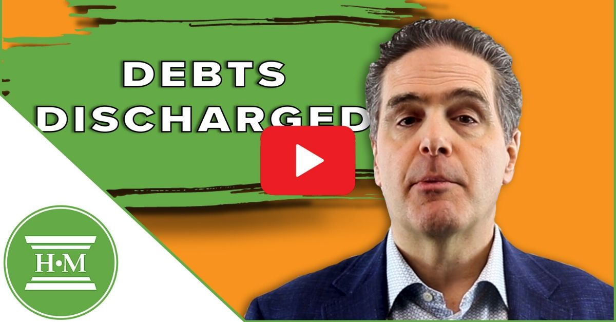 Debts Discharged in Bankruptcy video thumbnail
