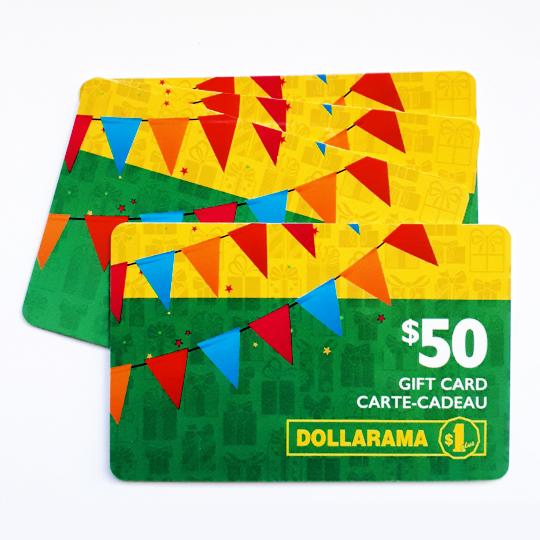 $50 Dollarama Giveaway