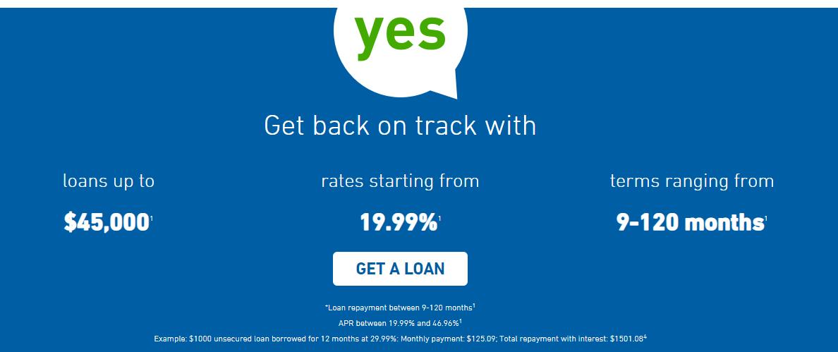 installment loan costs