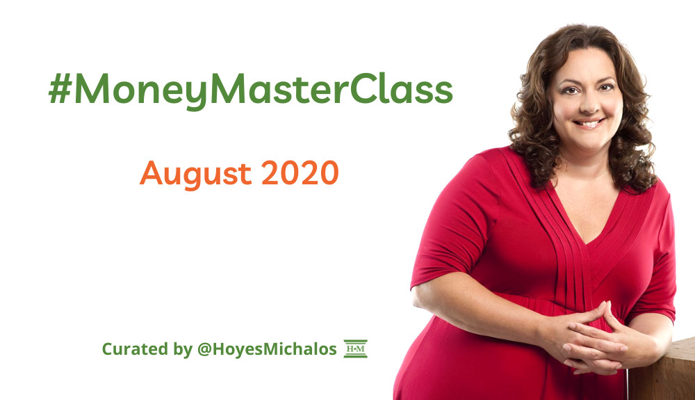 Thumbnail Image of #MoneyMasterClass Tweets: August 2020