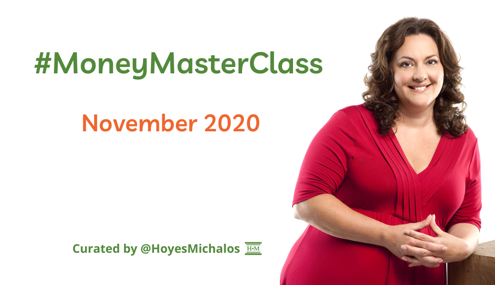 Thumbnail Image of #MoneyMasterClass Tweets: November 2020