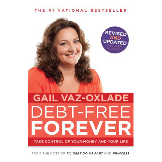 Cover of Gail Vaz-Oxlade's book Debt-Free Forever